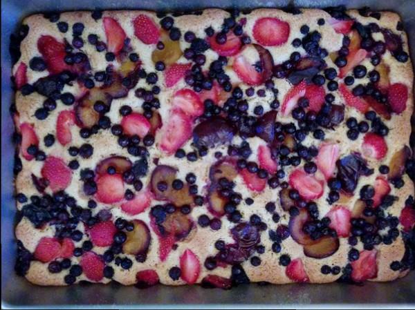 gâteau-petits-fruits