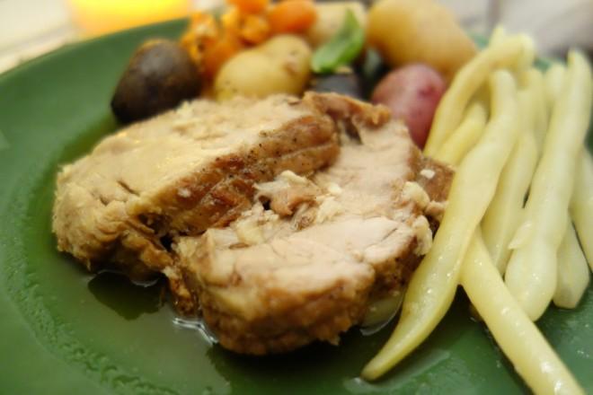 rôti-de-porc-ail