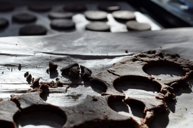 sablé-chocolat