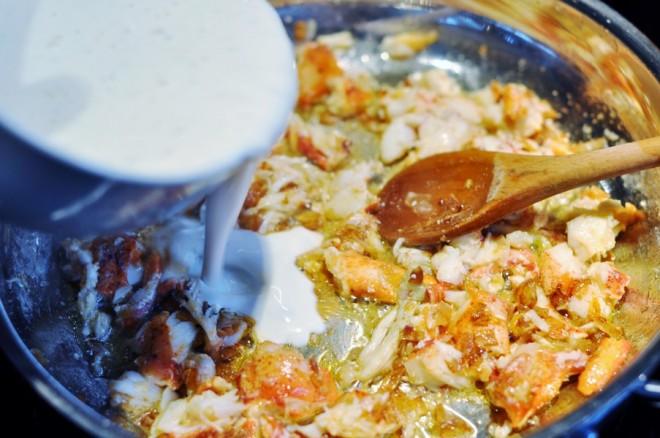 pâtes-homard