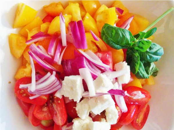 salade-tomates-feta-melon