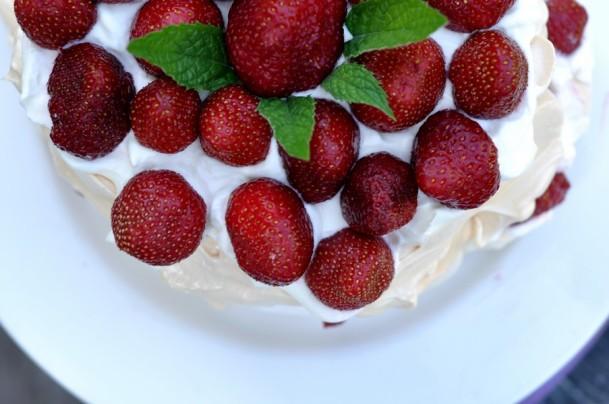 pavlova-aux-fraises