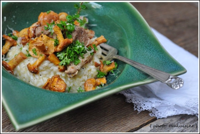risotto-chanterelles