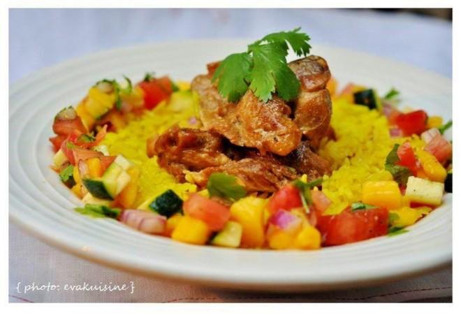 poulet-coco-salsa-exotique